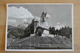 St. Gian Bei Celerina Schlarigna Kirche Graubünden Schweiz Ansichtskarte - GR Graubünden