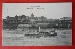 BUDAPEST - DONAU DAMPFER - Piroscafi