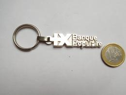 Beau Porte Clés , Banque , Banque Populaire - Porte-clefs