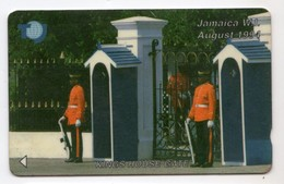 JAMAIQUE REF MV CARDS JAM-18A 50$ Annee 1994 CN : 18JAMA Kings House Gate - Jamaïque