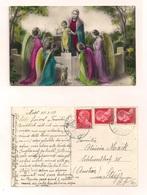 AK Heiligenmotiv - 26.3.1937 - Echt Gelaufen - Glaube, Religion, Kirche