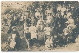 SAINT MALO  - Carte Photo De Groupe, 1912 - Photo A. Boyer - Saint Malo