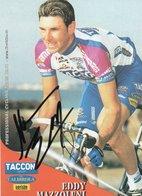 CYCLISME TOUR DE FRANCE   AUTOGRAPHE  EDDY MAZZOLENI - Cyclisme