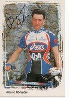 CYCLISME TOUR DE FRANCE   AUTOGRAPHE  ALESSIO BONGIONI - Cyclisme