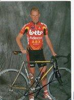 CYCLISME TOUR DE FRANCE   AUTOGRAPHE  CHRISTOPHE BRANDT - Cyclisme