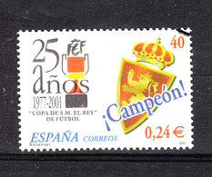 Spagna   Spain  - 2001. Copa De S.M .El Rey. - Usati
