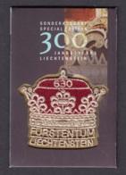 1.- LIECHTENSTEIN 2019 300 Years Of Liechtenstein - Liechtenstein