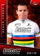 CARTE CYCLISME CADEL EVANS TEAM BMC BUSTE 2010 - Radsport