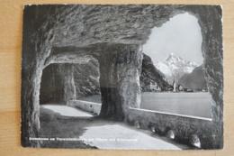 Axenstrasse Flüelen Sisikon Brunnen Am Vierwaldstättersee Mit Plüelen Und Bristenstock - SZ Schwyz