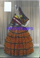 108878 REAL PHOTO COSTUMES DESGUISE CARNIVAL MAJA SPAIN NO POSTAL POSTCARD - Photographs