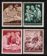 GERMANY  Scott # B 253-6* VF MINT HINGED (Stamp Scan # 472) - Germany