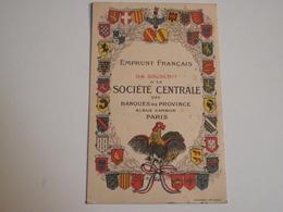 Carte Postale, Société Générale, Emprunt Français, 1919 - Banques