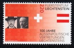 2.- LIECHTENSTEIN 2019 100 Years Of Liechtenstein's Foreign Representation - Liechtenstein