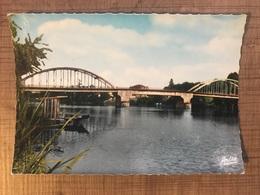 SAINTE LIVRADE SUR LOT Pont Vue Générale D'aval - France