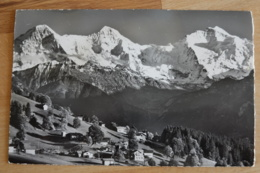Beatenberg Waldegg Eiger Mönch Jungfrau - Schweiz