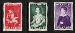 SAAR  Scott # B 101-3** VF MINT NH (Stamp Scan # 472) - 1947-56 Protectorate