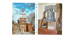 Cpm - Pennsylvania > Philadelphia - Liberty Bell - Grosse Cloche - Independence Hall - - Philadelphia