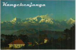 Kangchenjunga,the Third Highest Mountain In The World 8,586 M, Postcard Sent To Andorra,with Arrival Postmark - Alpinisme