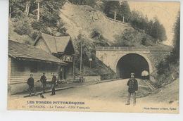 BUSSANG - Le Tunnel - Côté Français (douaniers) - Bussang