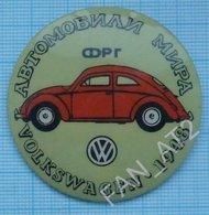 USSR / Soviet Union / RUSSIA / Badge / Cars Of The World Volkswagen 1948. Germany - Volkswagen