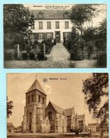 2x BERLARE : De Kerk + Woning Mme Lemmens - Berlare