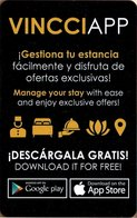 SPAGNA  KEY HOTEL      VINCCI HOTELES - Cartes D'hotel