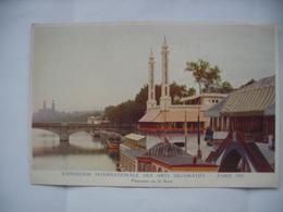 2 Cartes Exposition Internationale Des Arts Décoratifs Paris 1925 - Expositions