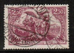 GERMANY  Scott # 114 VF USED (Stamp Scan # 472) - Germany
