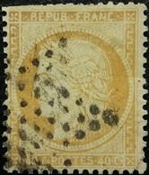 FRANCE Y&T N°38 Cérès 40c Orange. Oblitéré étoile De Paris - 1870 Siege Of Paris