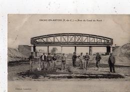 INCHY-EN-ARTOIS PONT DU CANAL DU NORD (TRAVAUX ) - France
