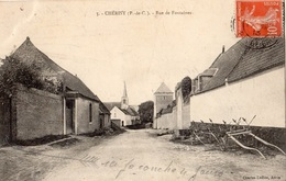 CHERISY RUE DE FONTAINES - France