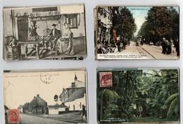 Lot De 100 CP Principalement EUROPE Dans Un état Très Correct. Cartes Anciennes Ou Semi- Modernes - Postcards