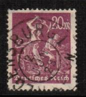 GERMANY  Scott # 224 VF USED (Stamp Scan # 472) - Germany