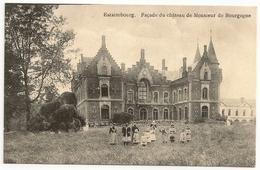 ESTAIMBOURG. Façade Du Château De Monsieur De Bourgogne. Château De Bourgogne D'Estaimbourg, Belle Animation. - Estaimpuis