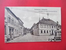 MAIKAMMER, Rheinpfalz, Marktplatz Mit General Hartmann Denkmal - Autres