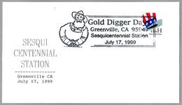 GOLD DIGGER DAYS - MINERO - MINER. Greenville CA 1999 - Minerales