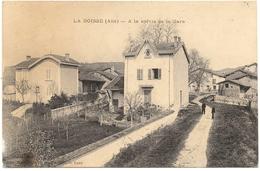 D 01 . CPA 1916 . LA BOISSE . A La Sortie De La Gare . - Autres Communes