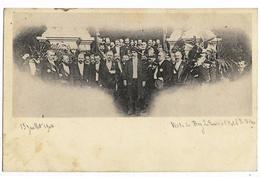 Photo-carte Du Bey De Tunis En Visite à L'Hôtel De Ville 13/07/1904, Dos Simple - France