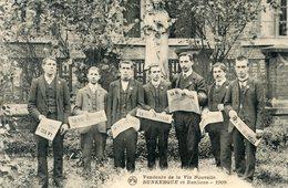 58  DUNKERQUE  VENDEURS DE LA VIE NOUVELLE  EN 1909 - Dunkerque