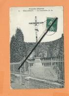 CPA Très Abîmée ,décollée  - Picardie Illustrée - Villeret - Le Calvaire - Sonstige Gemeinden
