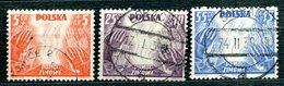 POLOGNE - Y&T 419 à 421 (série Complète) (20% De La Cote) - 1919-1939 Republic