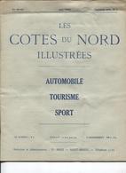 ST BRIEUC - Revue LES COTES Du NORD ILLUSTREES 1930 N°1  - Auto Tourisme Sport - Illustrations Et PUB - Ediiton Ti-Breiz - Bretagne