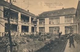CPA - Belgique - Kalmthout - Diesterweg's Schoolvilla Te Heide-Calmpthout - Binnenkoer - Kalmthout
