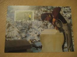 BERLIN 1987 Handwerksberufe Steinmetz Maxi Maximum Card GERMANY Sculpture Art - Scultura
