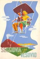 Italie - Seggiova Del Vesuvio - Ferrovia E Funicolare Vesuviana - Vésuve - Volcan - Baie De Naples - Napoli - Napoli (Naples)