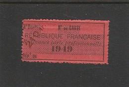 FISCAL - FISCAUX - TIMBRE DE VIANDE - A7 - 1949 - Fiscali