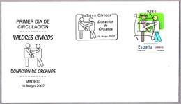 VALORES CIVICOS - DONACION DE ORGANOS - Organ Donations. SPD/FDC Madrid 2007 - Salud