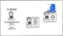 125 Años De PRENSA EN RIPOLL - 125 Years Newspaper EL RIPOLLES. Ripoll 2007 - Sellos