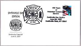 155 Años BOMBEROS VOLUNTARIOS - Volunteer Firefighters. Smithville Flats NY 2007 - Bombero