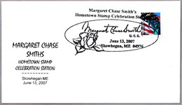 American Politician MARGARET CHASE SMITHS. Rosa - Rose. Skowhegan ME 2007 - Mujeres Famosas
